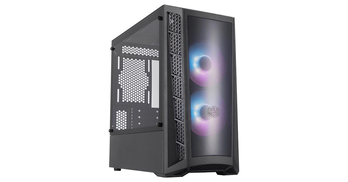 Cooler Master MasterBox MB320L ARGB Mini Tower PC Case